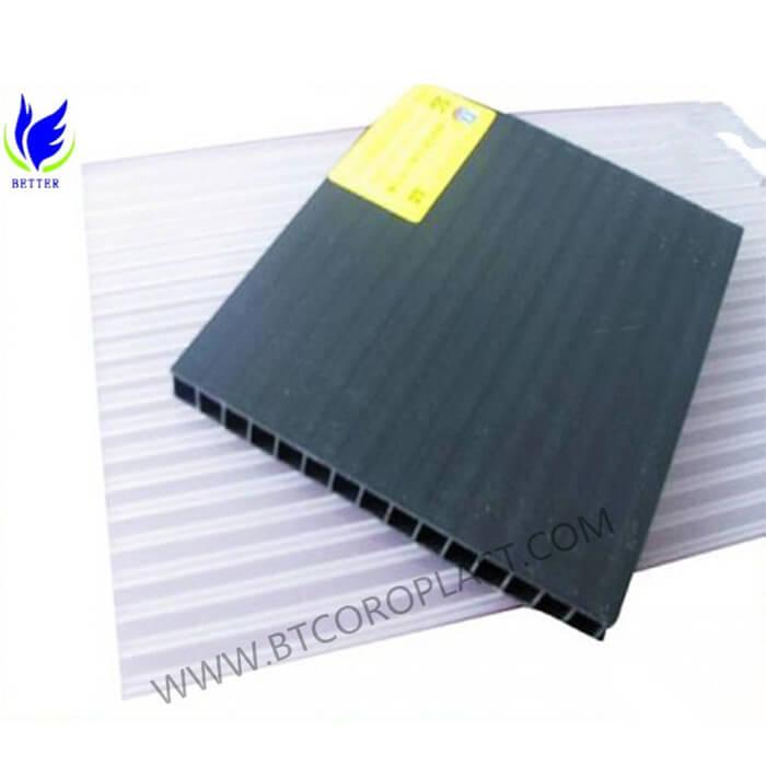 中空板与钙塑板有什么区别